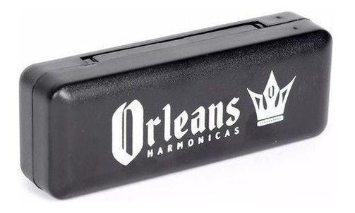 Imagem de Gaita De Boca Harmonica Orleans Stone 10 Furos Afinação (Dó)