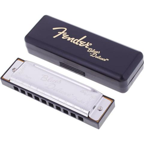 Imagem de Gaita Fender Blues Deluxe Diatônica Em C Dó