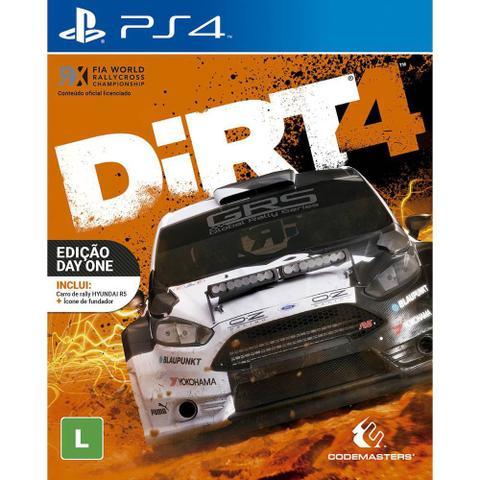 Imagem de Game Dirt 4 - PS4