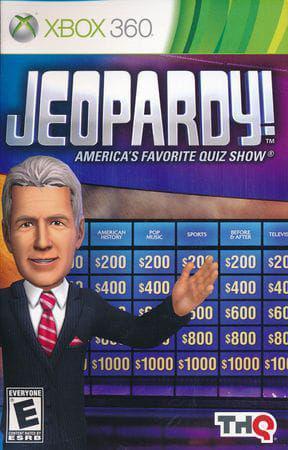 Jogo Jeopardy! Americas Favorite Quiz Show - Xbox 360 - Thq