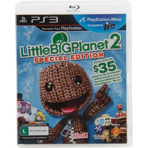 Jogo Little Big Planet 2 Special Edition - Playstation 3 - Sieb