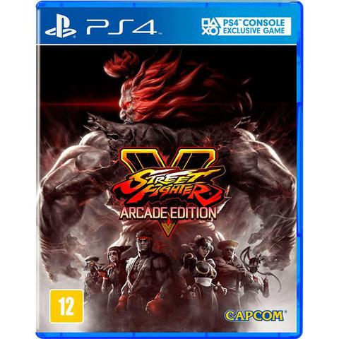 Imagem de Game Street Fighter V Arcade Edition - Ps4