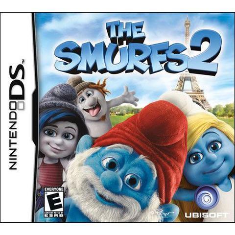 Imagem de Game The Smurfs 2 Jogo Infantil Nintendo Ds Ubisoft