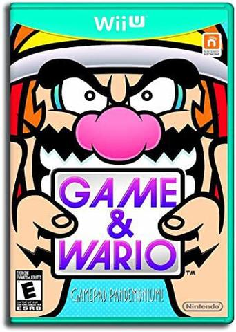 Imagem de Game & Wario Nintendo Wiiu Midia Fisica
