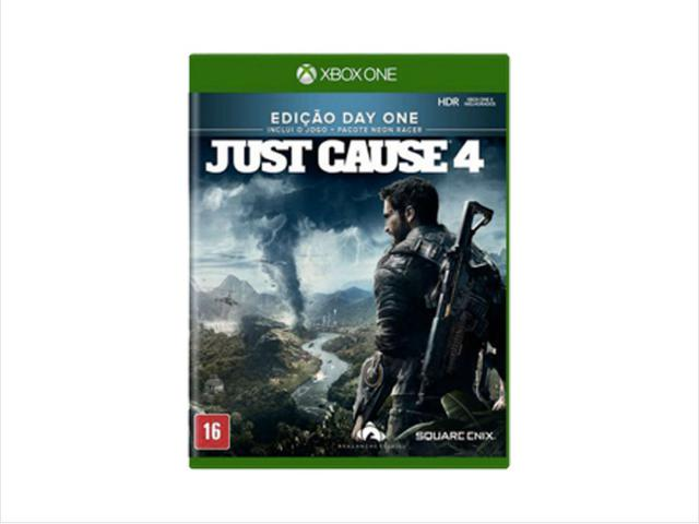 Jogo Just Cause 4 - Xbox One - Square Enix