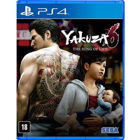 Imagem de Game Yakuza 6: The Song Of Life - PS4