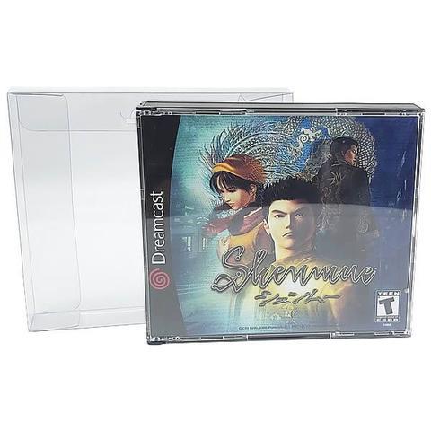 Imagem de Games-18 (0,20mm) Caixa Protetora para Jogo Duplo de PS1 e Dreamcast 10unid