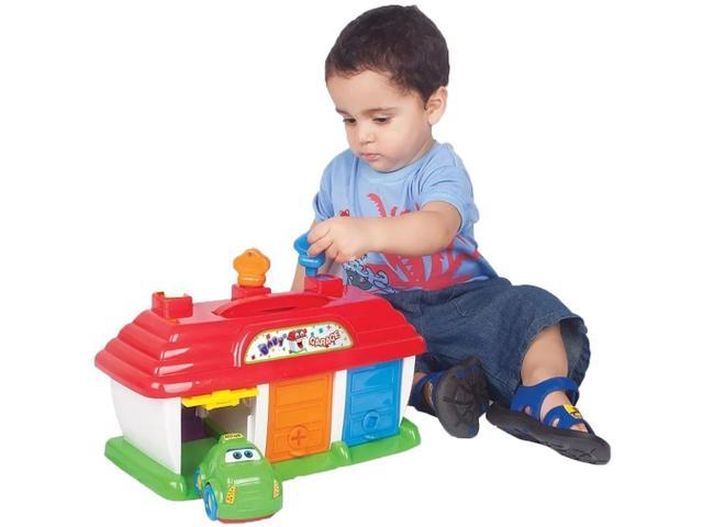 Imagem de Garagem de Brinquedo Baby Garage