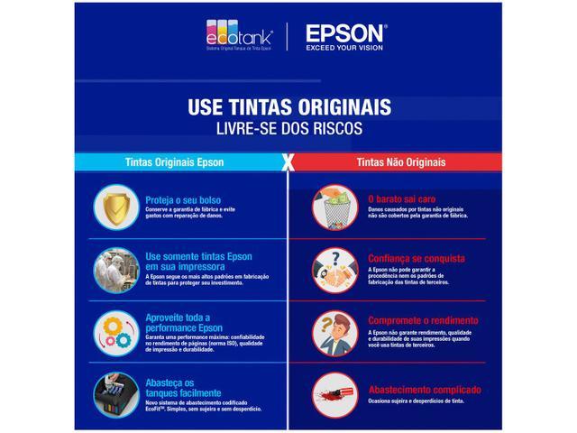 Imagem de Garrafa de Tinta Epson EcoTank T534120 Preta