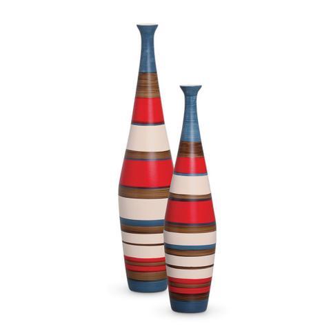 Imagem de Garrafa Decorativa Vaso em Cerâmica Objeto Decoração Enfeite