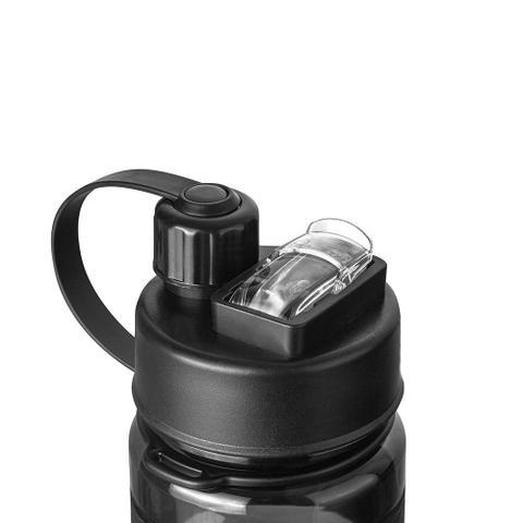 Imagem de Garrafa liquid 1l com dois bocais - invictus