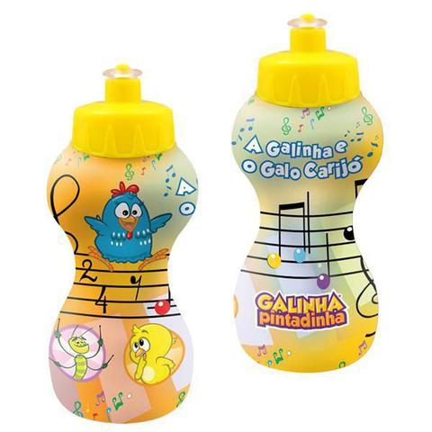 Imagem de Garrafa plastica squeeze fazendinha 350ml - koplast