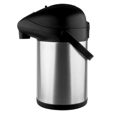 Imagem de Garrafa Termica 2,5L Inoxidavel Pressao Resistente Bebidas Cafe