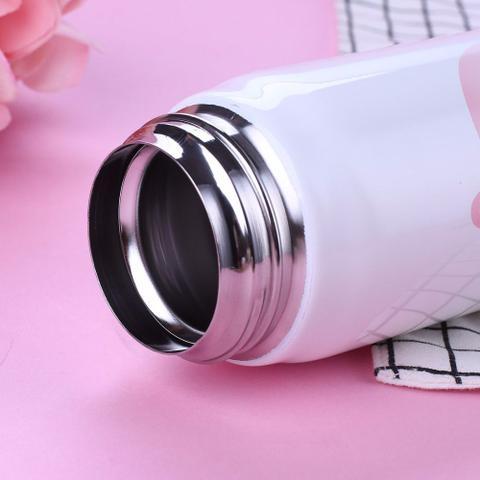 Imagem de Garrafa Termica 450ml Aço Inox Quente ou Frio Flamingo Portatil (BSL2068)