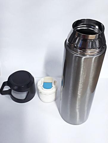 Imagem de Garrafa Térmica Inox 500ml Com Tampa Para Água Chá E Cafe
