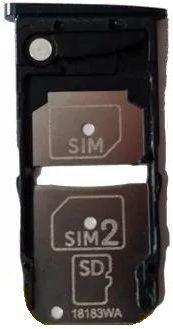 Imagem de Gaveta Bandeja Chip Sim Card Micro Sd Motorola Moto Z3 Play Xt1929