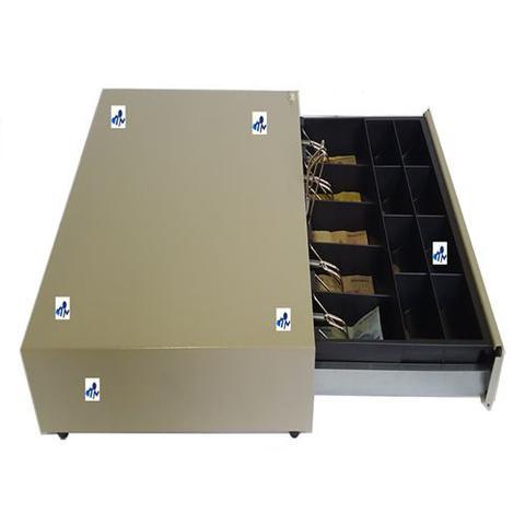 Imagem de gaveta caixa manual multiforte bege mecanica