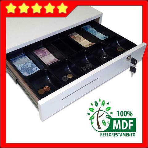 Imagem de gaveta caixa para dinheiro separador de notas e moedas