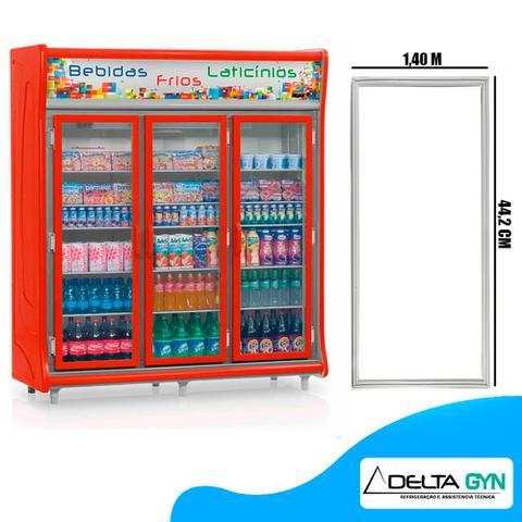 Imagem de Gaxeta borracha geladeira Gelopar 2, 3, 4, 5 e 6 portas GEVT 140 X 44 cod. 006342.09