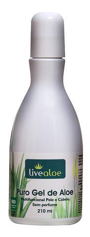 Imagem de Gel Aloe Vera Natural Multifuncional sem perfume 210 ml