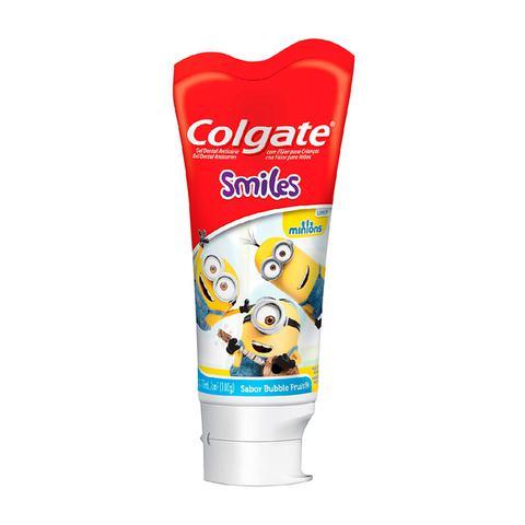 Imagem de Gel Dental Colgate Kids Smiles Minions Bubble Fruit 100g