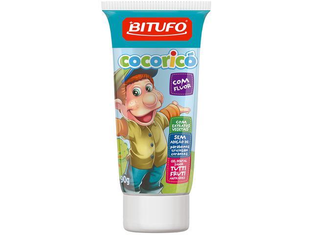 Imagem de Gel Dental Infantil Bitufo Cocoricó