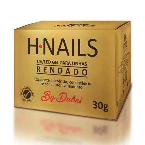 Imagem de Gel Para Unhas H.Nails UV/Led Rendado 30g