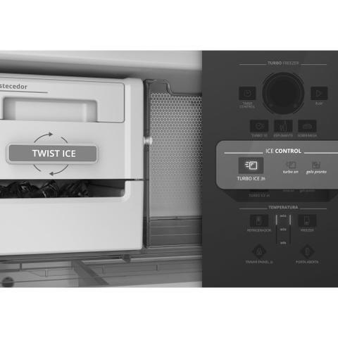 Imagem de Geladeira Brastemp BRE57AB 443 Litros Inverse 2 Portas Frost Free Branco