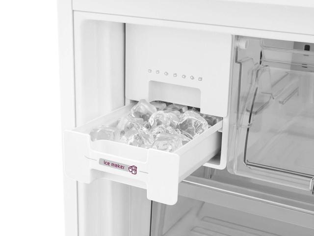 Imagem de Geladeira Brastemp BRO80AB 540 Litros Side by Side Inverse 3 Portas Frost Free Branco - 220V