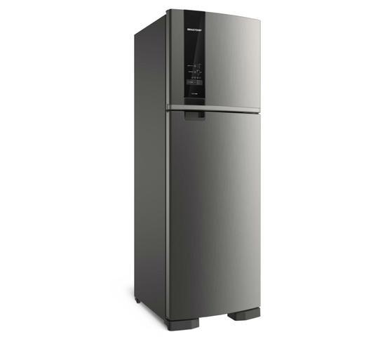 Imagem de Geladeira Brastemp Frost Free Duplex 400 litros cor Inox com Freeze Control