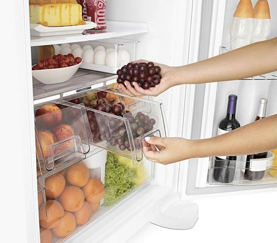 Imagem de Geladeira Brastemp Frost Free Duplex 429 litros Branca com Smart Bar