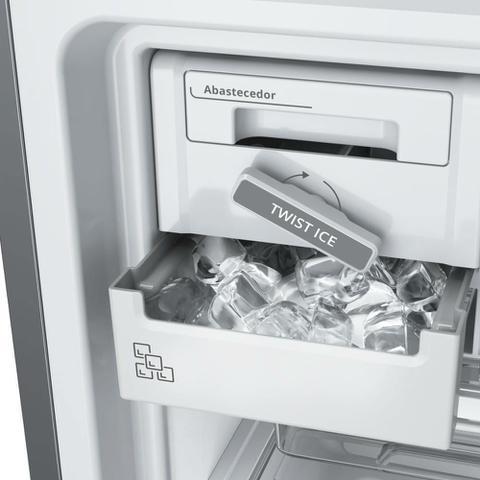 Imagem de Geladeira Brastemp Frost Free Duplex 462 litros cor Inox com Turbo Control