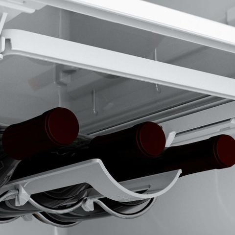 Imagem de Geladeira Brastemp Frost Free Duplex 478 litros cor Inox com Freezer Control Advanced