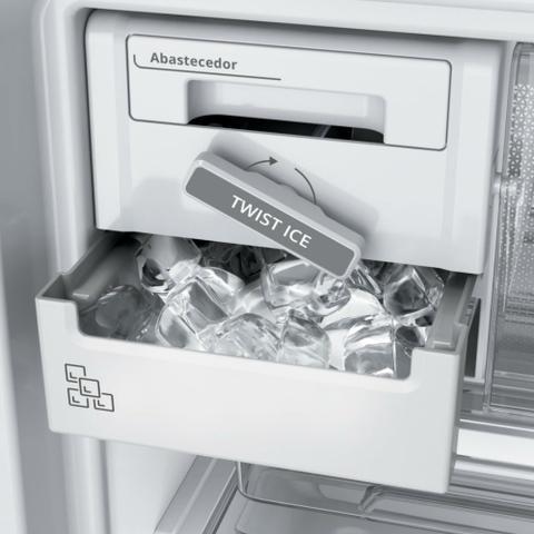 Imagem de Geladeira Brastemp Frost Free Duplex 500 litros Branca com Turbo Control