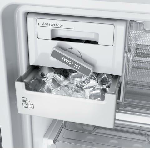 Imagem de Geladeira Brastemp Frost Free Duplex 500 litros cor Inox com Turbo Control
