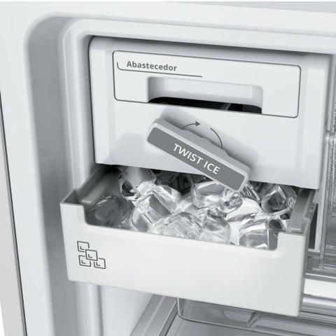 Imagem de Geladeira Brastemp Frost Free Inverse 443 litros Branca com Turbo Ice