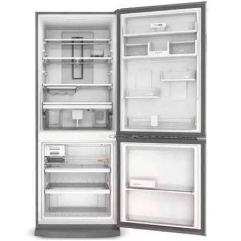 Imagem de Geladeira Brastemp Frost Free Inverse 443 litros Inox com Turbo Ice 110V - BRE57AKana
