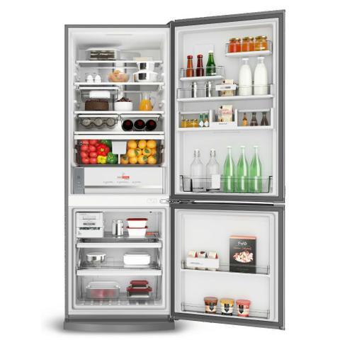 Imagem de Geladeira Brastemp Frost Free Inverse 460 litros cor Inox com Freeze Control Advanced