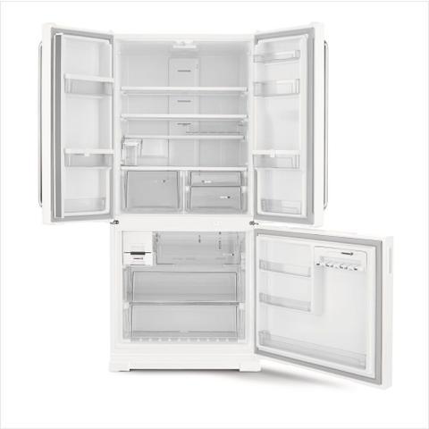 Imagem de Geladeira Brastemp Frost Free Side Inverse 540 litros Branca com Ice Maker