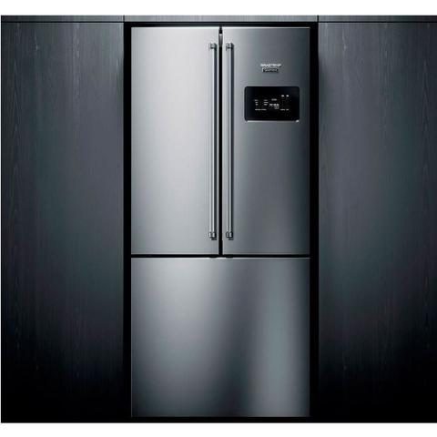 Imagem de Geladeira Brastemp Gourmand Frost Free Side Inverse 540 litros Inox com Ice Maker BRO81AR - 220V