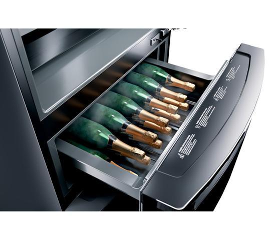 Imagem de Geladeira Brastemp Inverse 3 Frost Free 419 litros cor Inox com Freeze Control Pro - BRY59AK