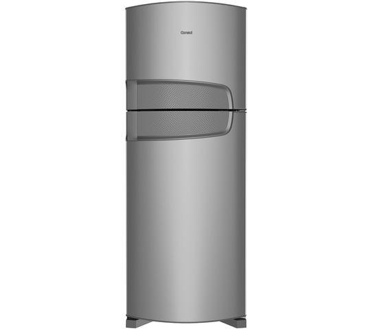 Imagem de Geladeira Consul Cycle Defrost Duplex 450 litros cor Inox com Prateleiras Reguláveis - CRD49AK