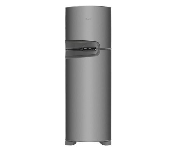 Imagem de Geladeira Consul Frost Free Duplex 275 litros cor Inox com Prateleiras Altura Flex