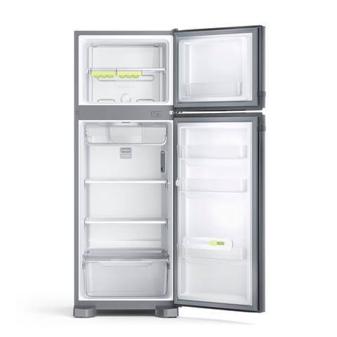 Imagem de Geladeira Consul Frost Free Duplex 340 litros Evox com Prateleiras Altura Flex