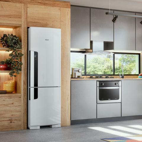 Imagem de Geladeira Consul Frost Free Duplex 397 litros Branca com freezer embaixo