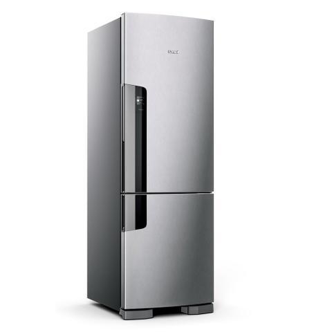 Imagem de Geladeira Consul Frost Free Duplex 397 litros Evox com freezer embaixo