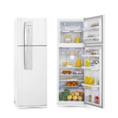 Imagem de Geladeira Electrolux Branca Duas Portas Frost Free 382L Inox 127V DF42