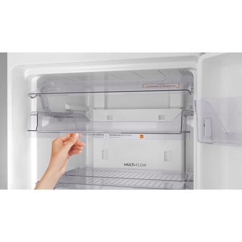 Imagem de Geladeira Frost Free Continental 394L TC44S Prata Top Freezer 127V