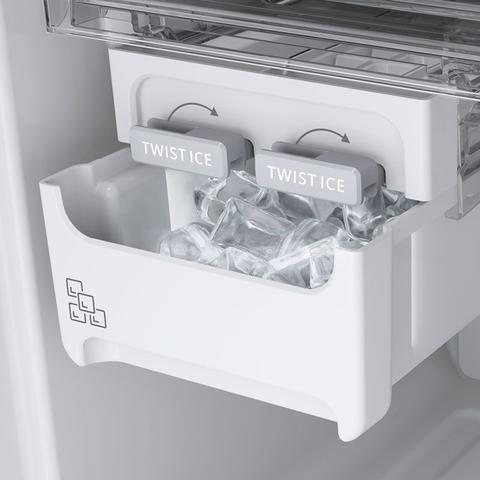 Imagem de Geladeira frost free duplex freeze control inox brastemp 400 litros 220v brm54hkbna