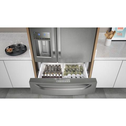 Imagem de Geladeira Frost Free Electrolux 540 Litros 3 Portas Inverse Inverter Cor Inox (DM90X)